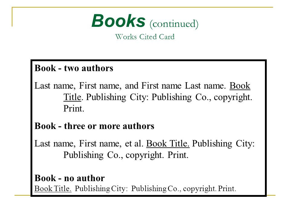 how to cite any book in mla  8th ed   works cited page