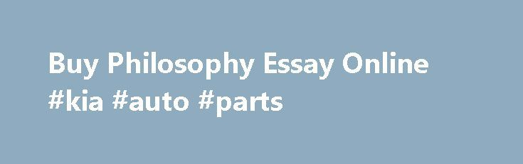 Writing services for philosophy essay